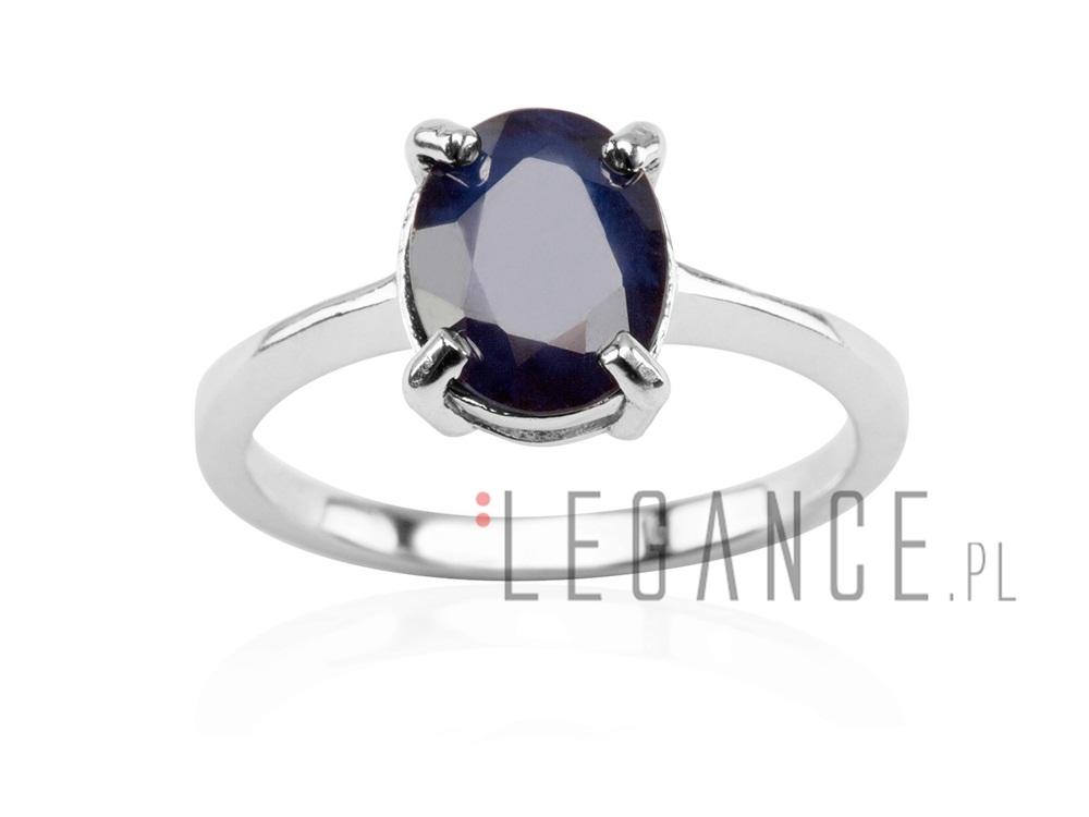 3773b46c449ca8 Srebrny pierścionek z szafirem YES VERONA - sklep Legance.pl