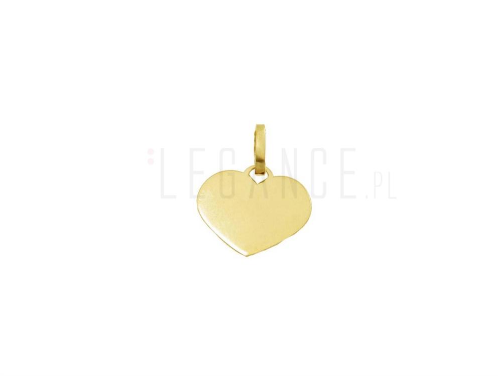 545b3b707ffc3b Zawieszka złote serce pr. 585 YES VERONA - sklep Legance.pl