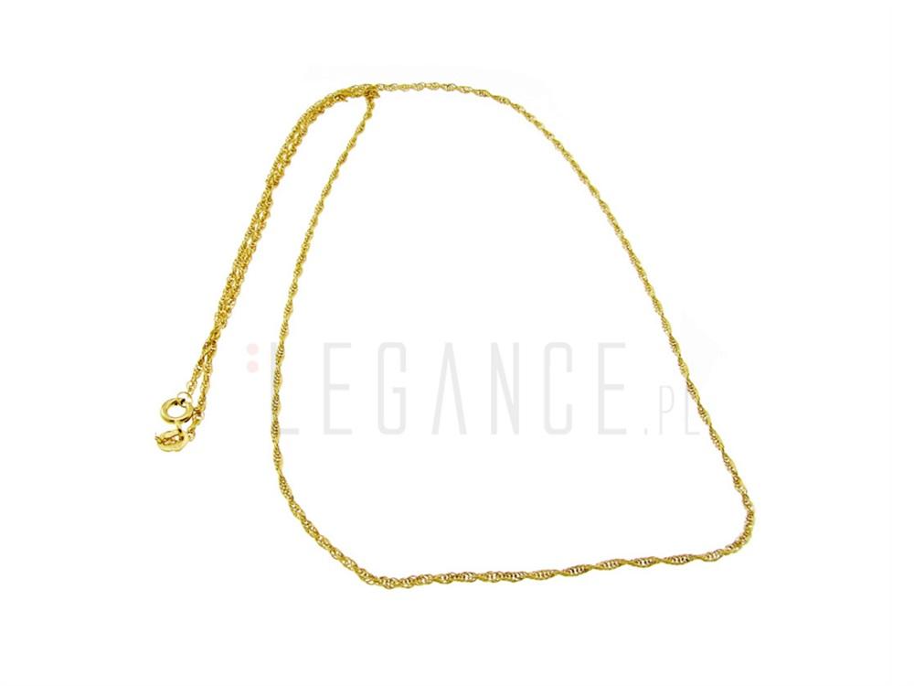 dfbbc20d679552 585 VERONA - YES Złoty łańcuszek skręcany kord pr. 585 VERONA - YES
