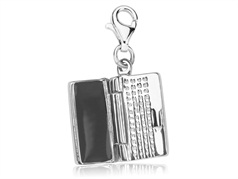Charms srebrny laptop  VERONA - YES
